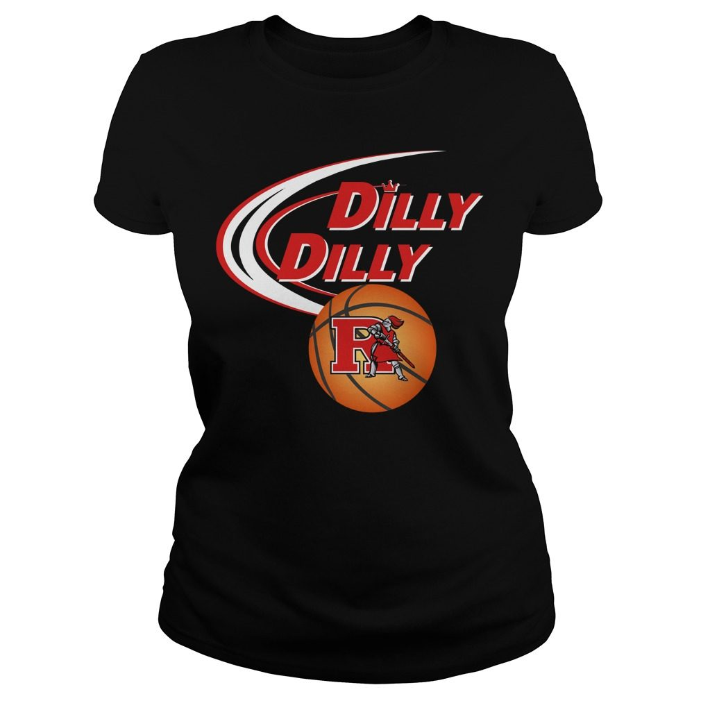 Dilly Dilly Rutgers Ncaa Basketball Ladies Tee