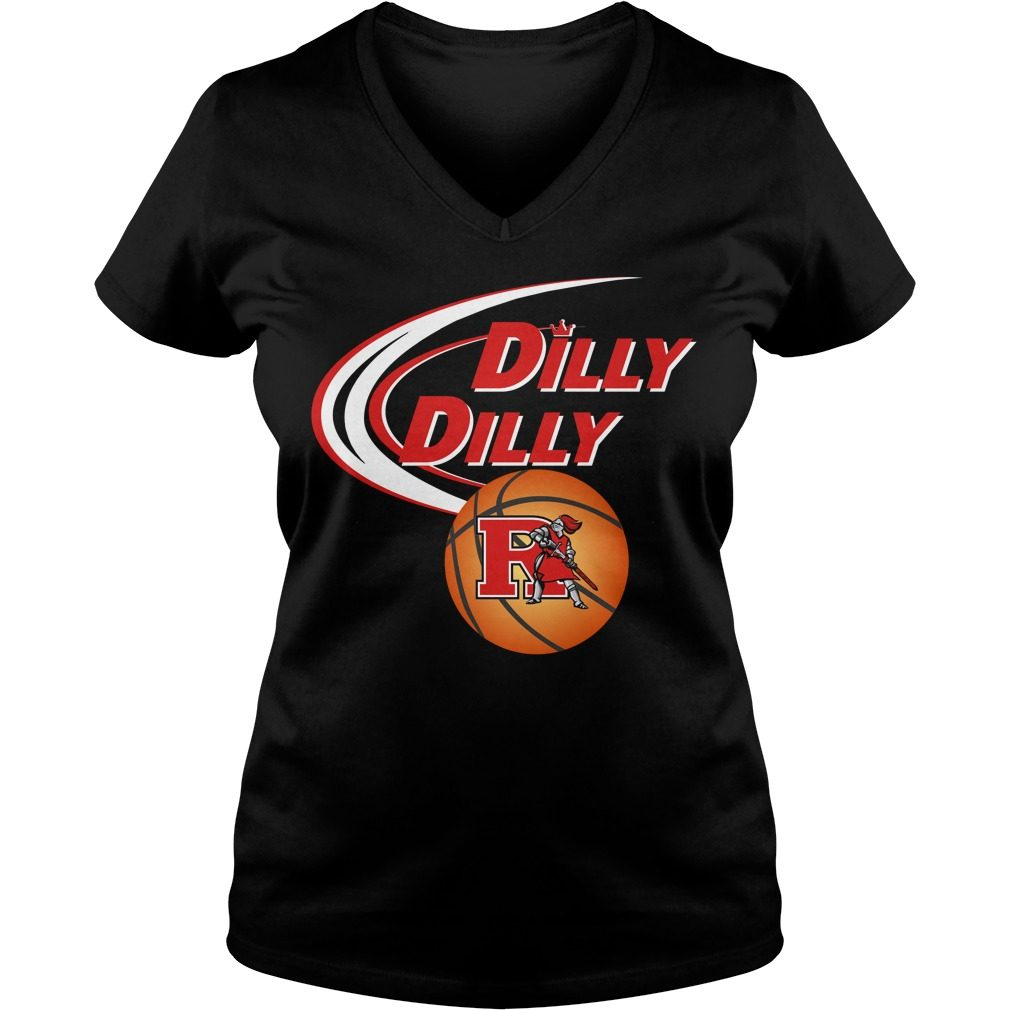Dilly Dilly Rutgers Ncaa Basketball V Neck T Shirt