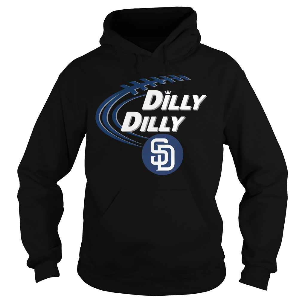 Dilly Dilly San Diego Padres Bud Light Mlb Baseball Hoodie