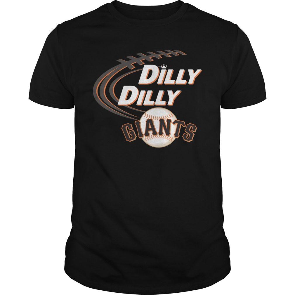 Dilly Dilly San Francisco Giants Bud Light Mlb Baseball Shirt
