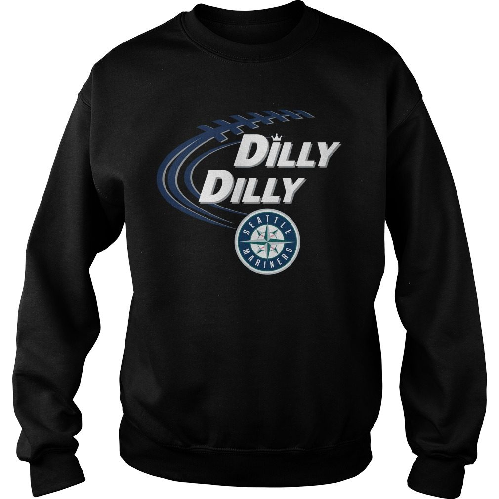 Dilly Dilly Seattle Mariners Bud Light Mlb Baseball Sweater