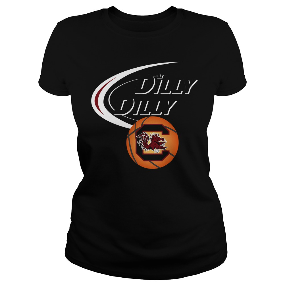 Dilly Dilly South Carolina Ncaa Basketball Ladies Tee