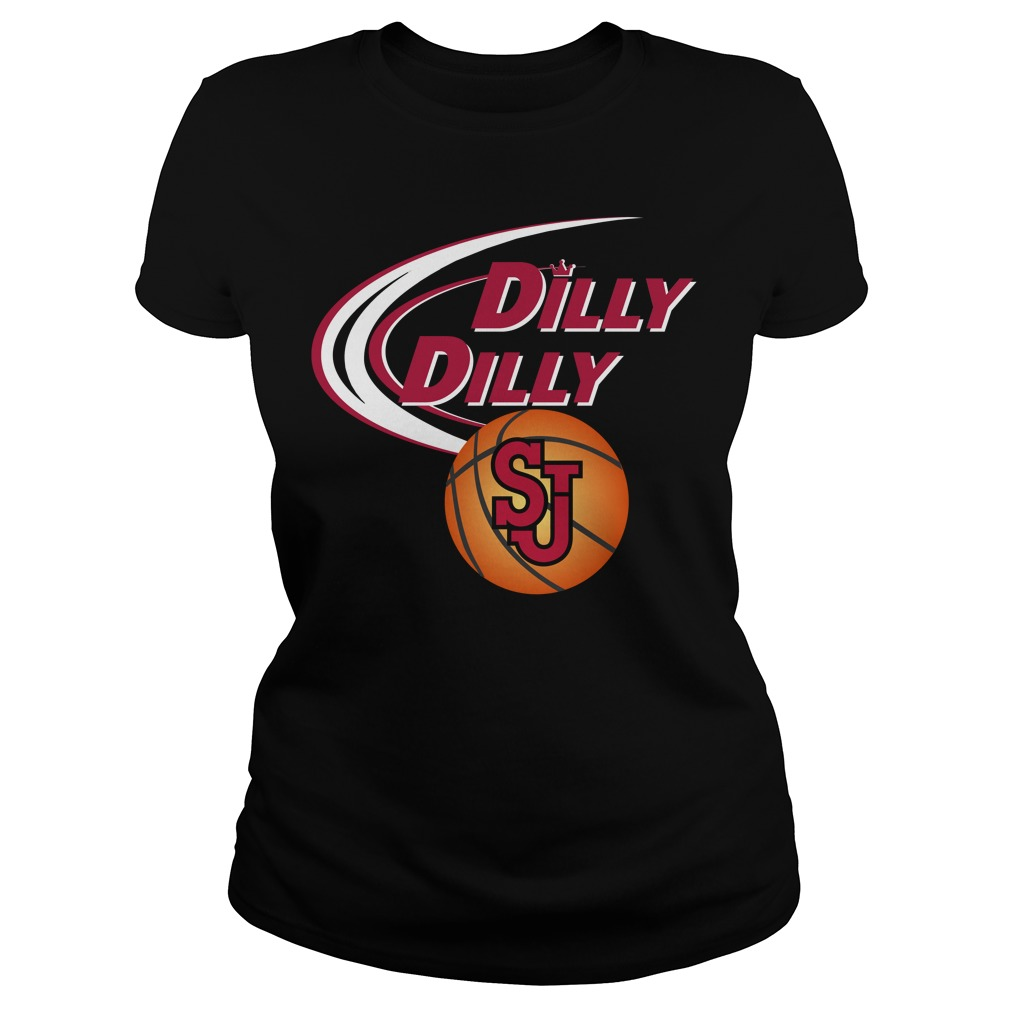 Dilly Dilly St Johns Ny Ncaa Basketball Ladies Tee