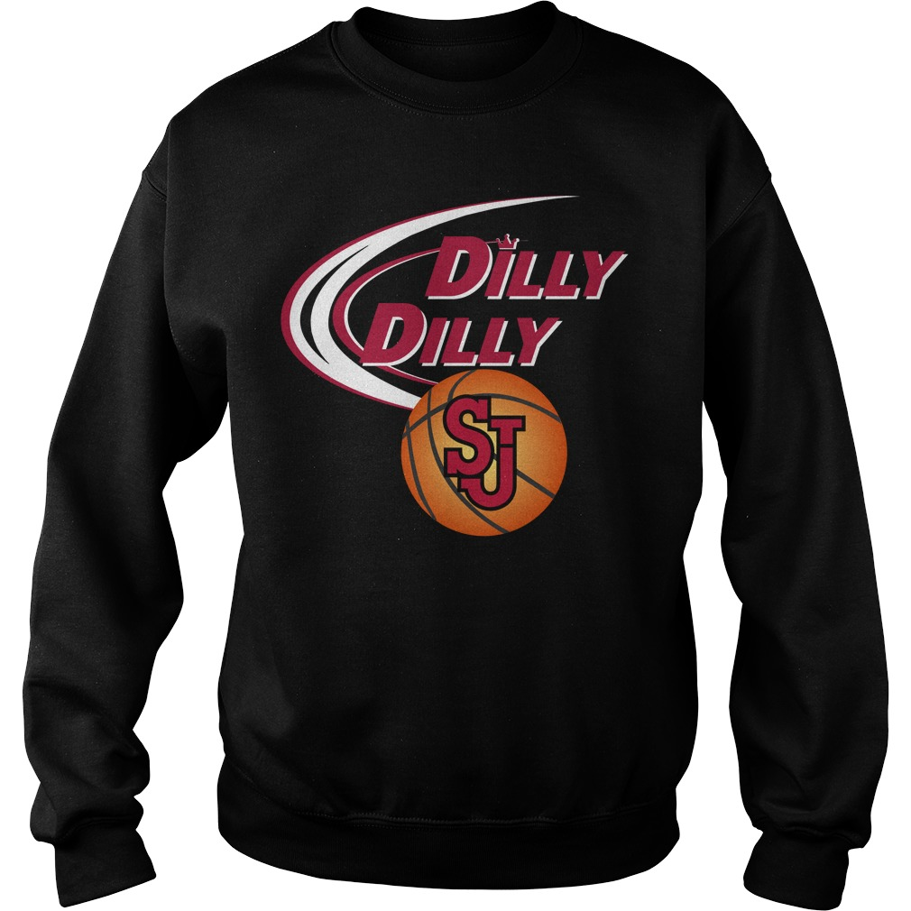 Dilly Dilly St Johns Ny Ncaa Basketball Sweater