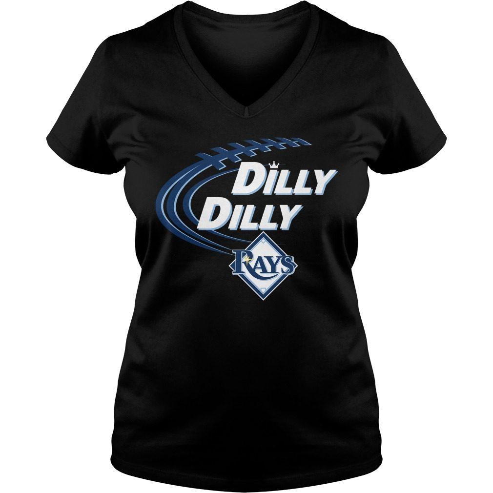 Dilly Dilly Tampa Bay Rays Bud Light Mlb Baseball V Neck T Shirt