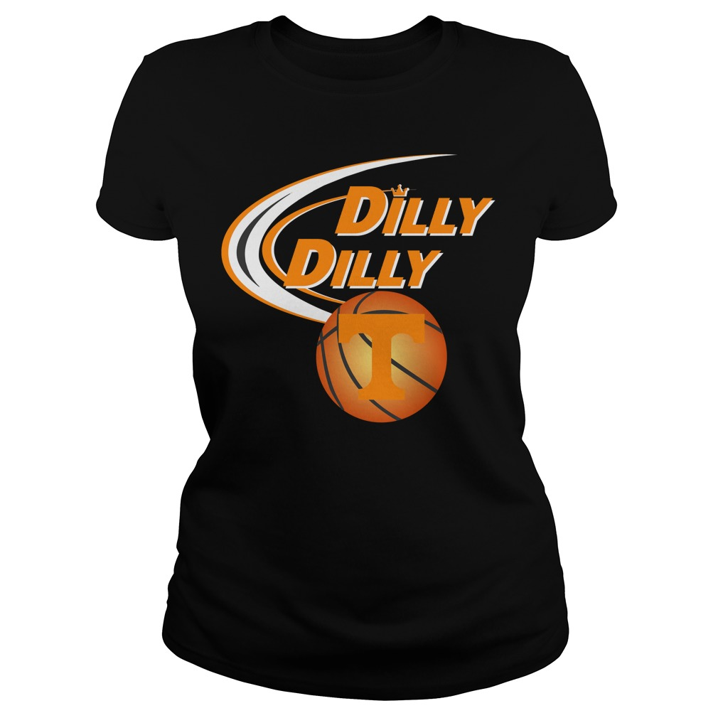 Dilly Dilly Tennessee Ncaa Basketball Ladies Tee