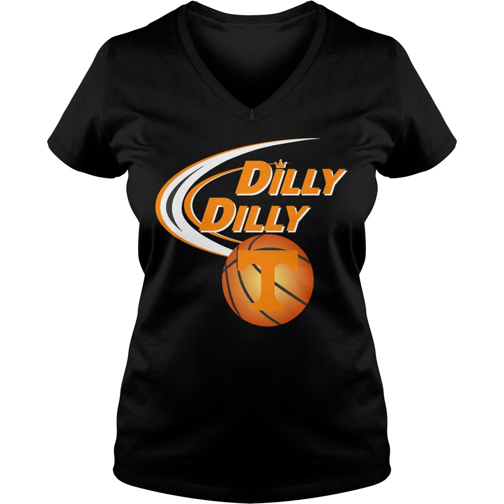 Dilly Dilly Tennessee Ncaa Basketball V Neck T Shirt