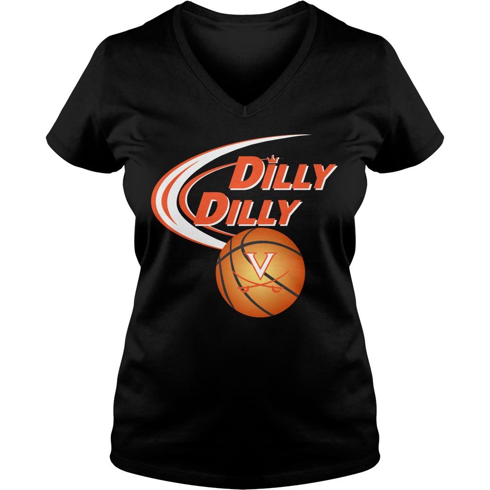 Dilly Dilly Virginia Ncaa Basketball V Neck T Shirt