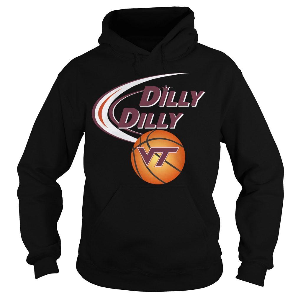 Dilly Dilly Virginia Tech Ncaa Basketball Hoodie