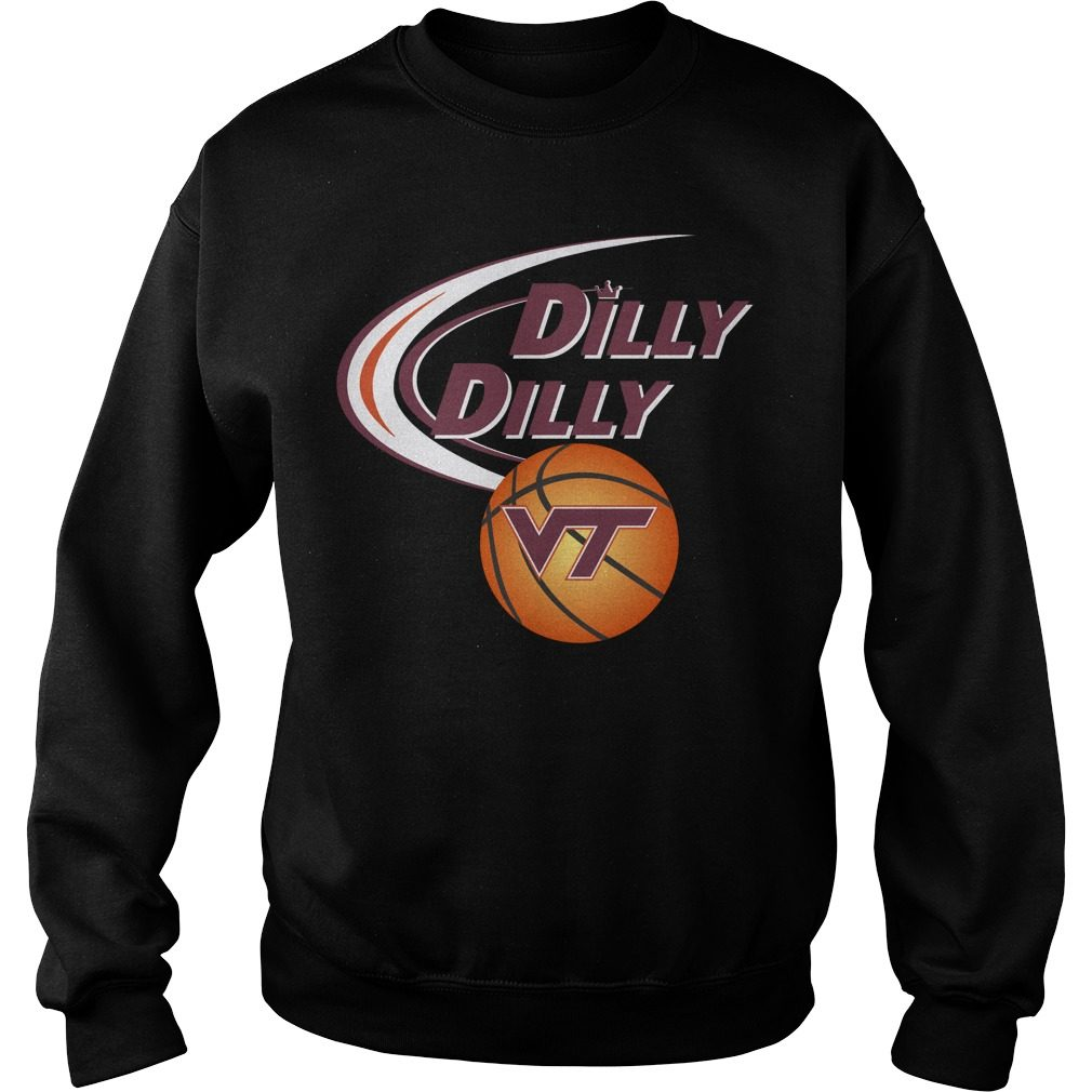 Dilly Dilly Virginia Tech Ncaa Basketball Sweater