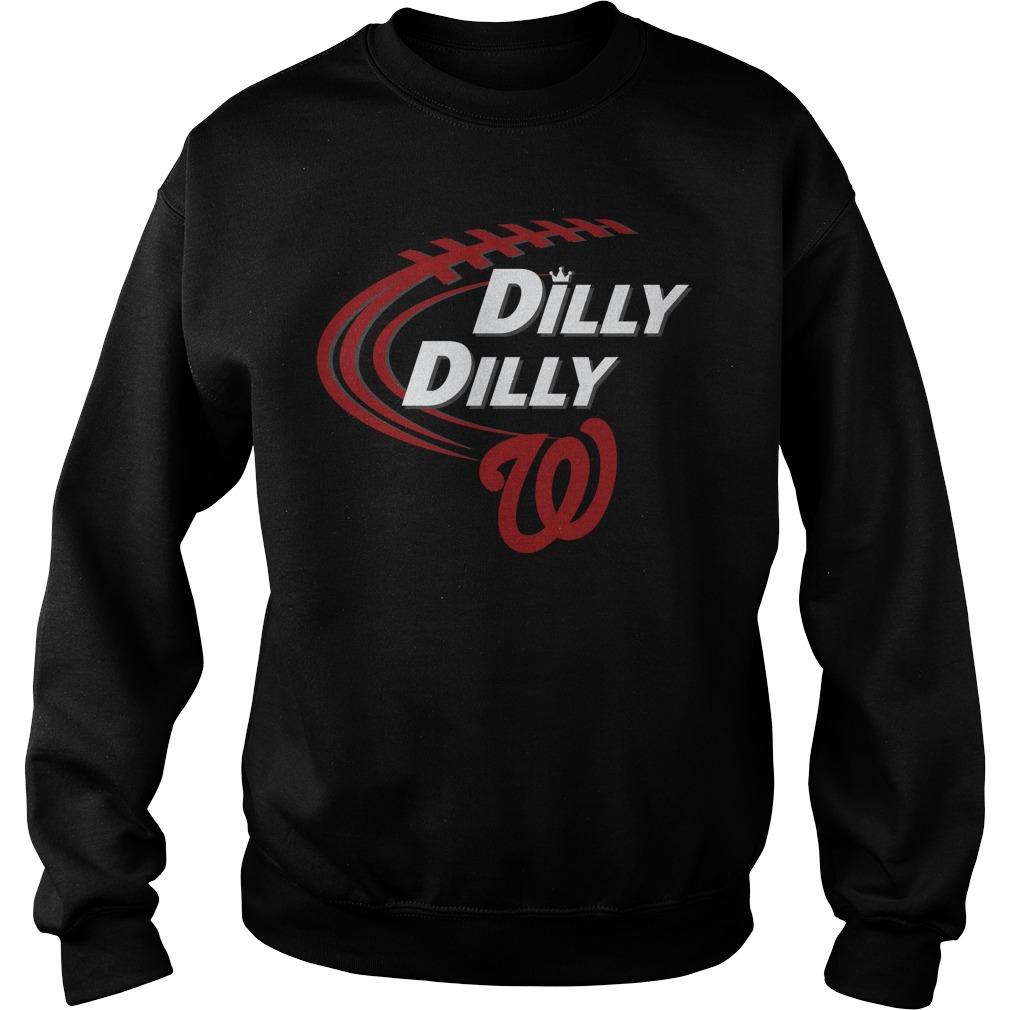 Dilly Dilly Washington Nationals Bud Light Mlb Baseball Sweater