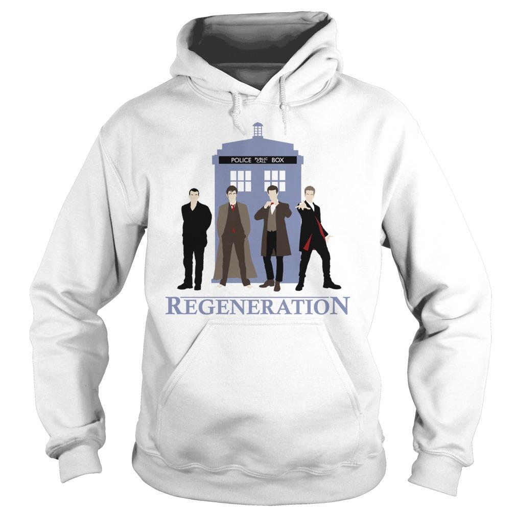 Doctor Regeneration Printed Hoodie