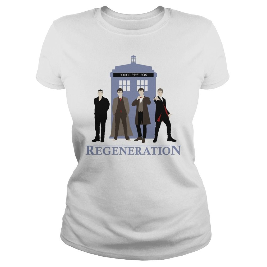 Doctor Regeneration Printed Ladies Tee