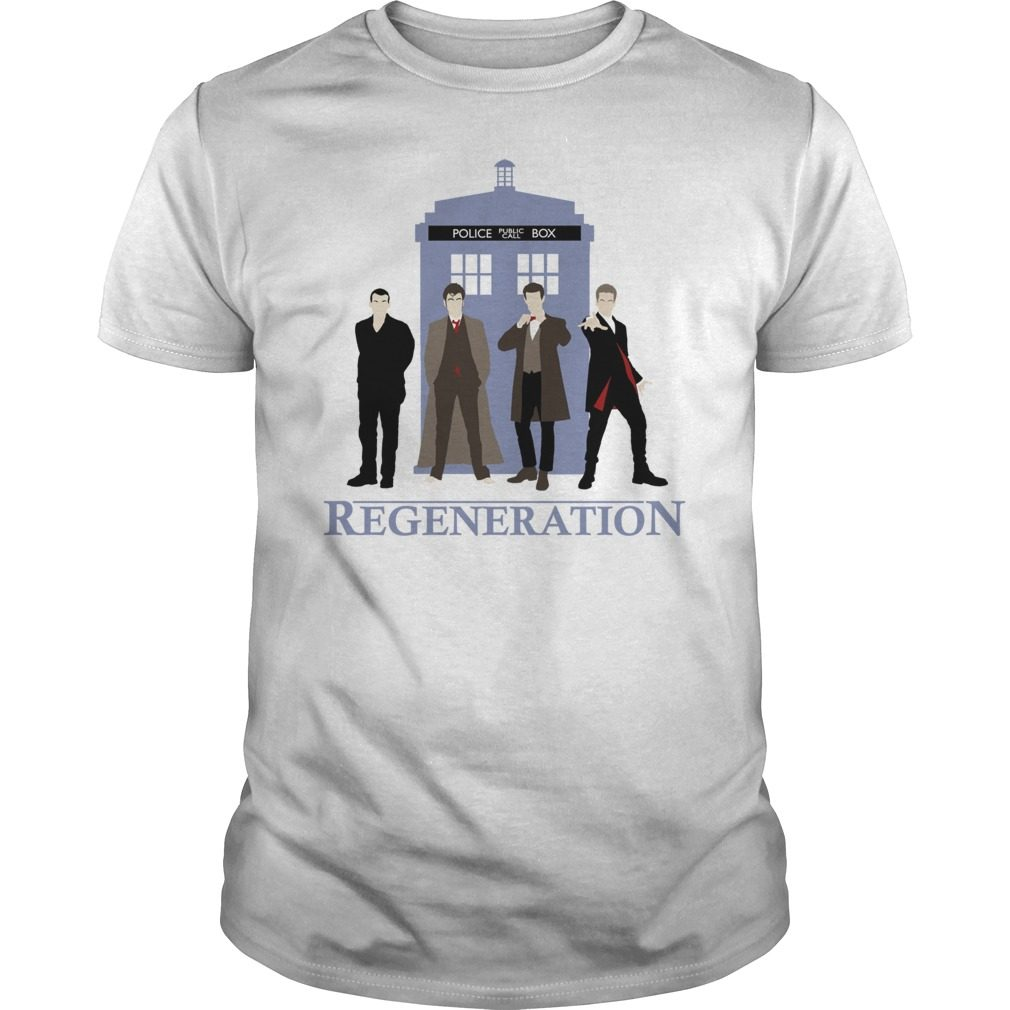 Doctor Regeneration Printed Shirt