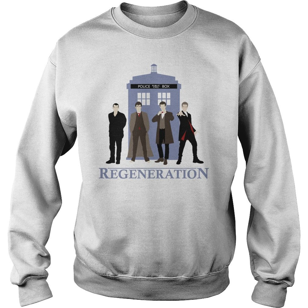Doctor Regeneration Printed Sweater
