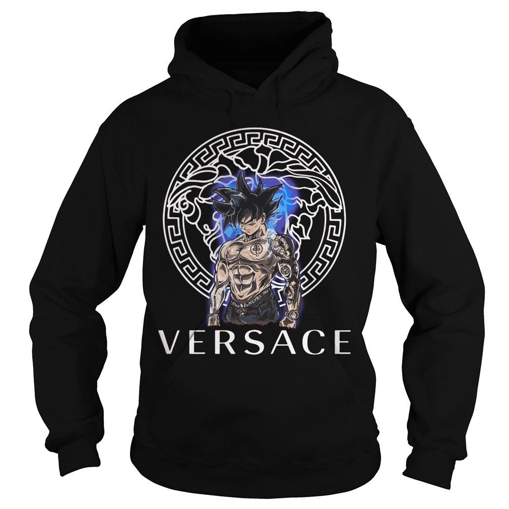 Dragon Ball Super Goku Ultra instinct Versace shirt, hoodie