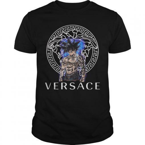 Dragon Ball Super Goku Ultra Instinct Versace Shirt