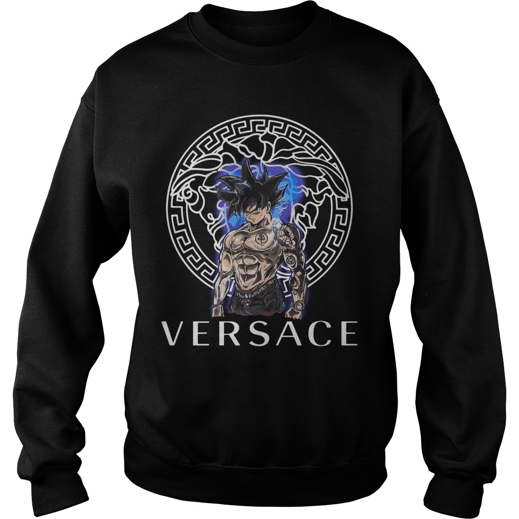 Dragon Ball Super Goku Ultra Instinct Versace Sweater