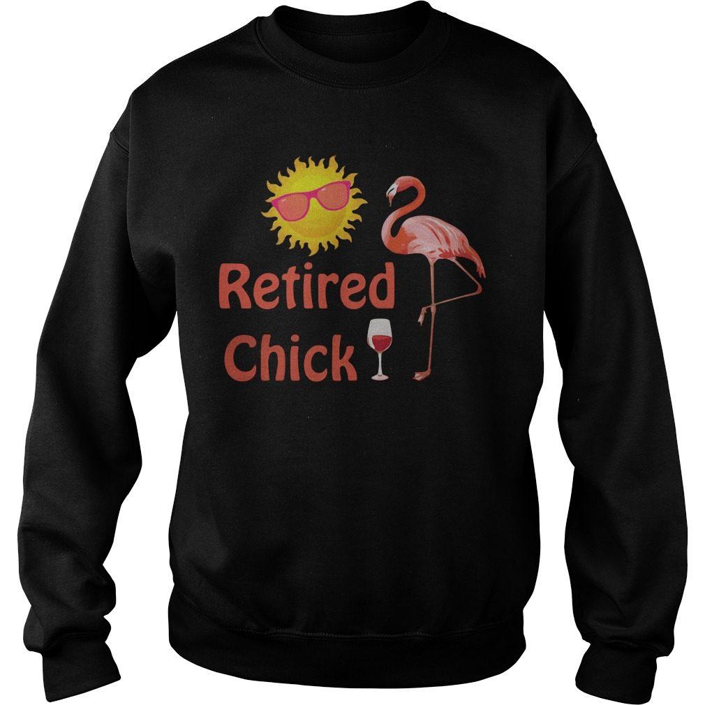 Flamingo Retired Chick Happy Sunshine Sweater