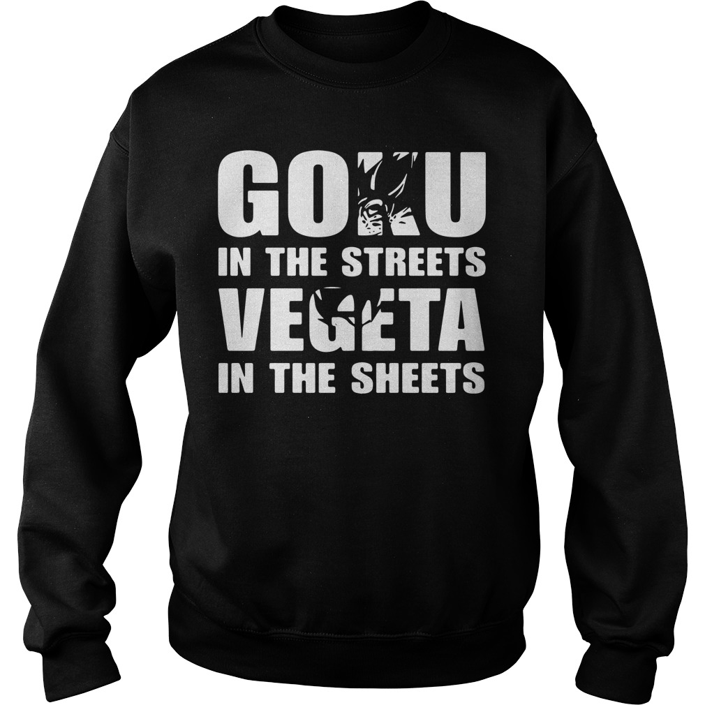 Goku Streets Vegeta Sheets Sweater