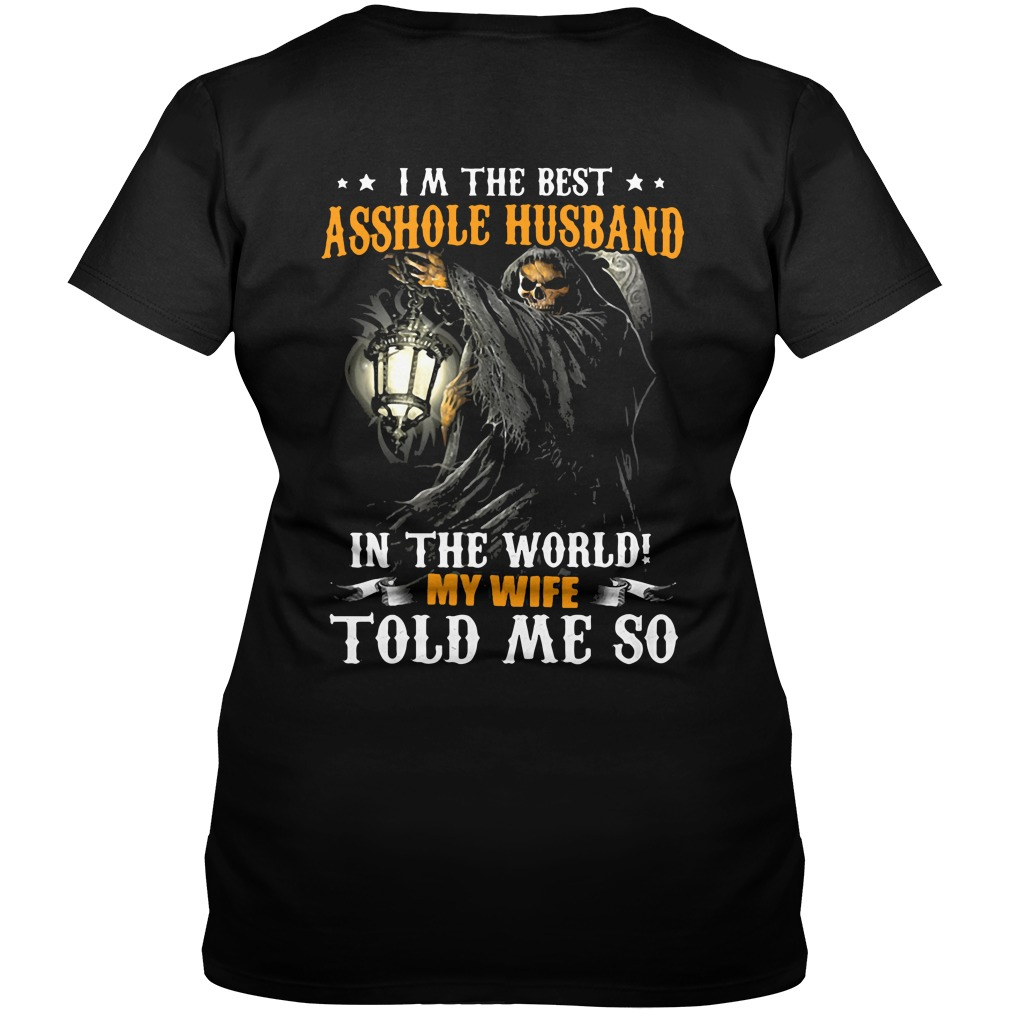 Im The Best Asshole Husband In The World V Neck T Shirt