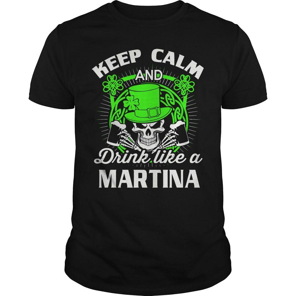 Keep Calm Drink Like Martian St Patricks Day Shirt