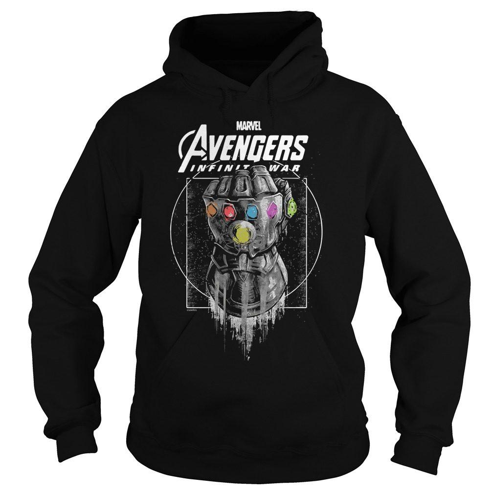 Marvel Avengers Infinity War Gauntlet Hoodie