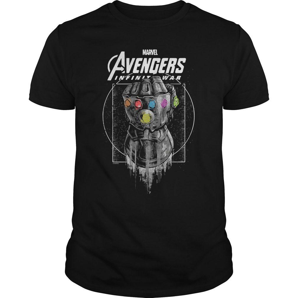 Marvel Avengers Infinity War Gauntlet Shirt