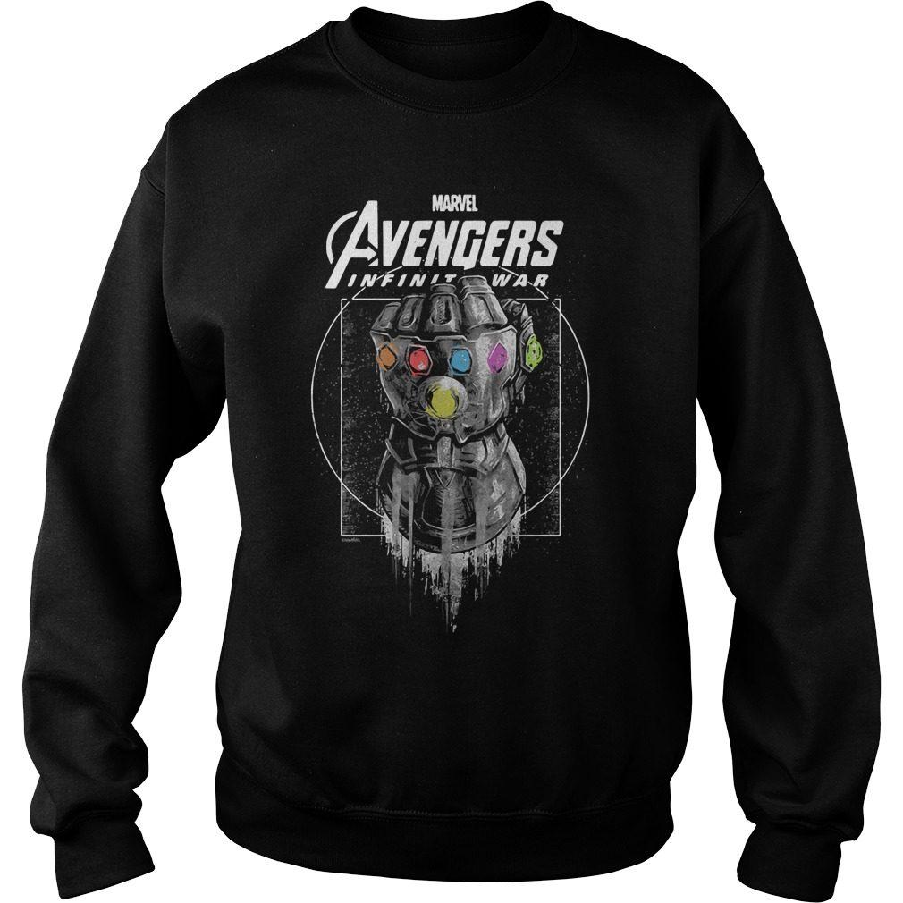Marvel Avengers Infinity War Gauntlet Sweater
