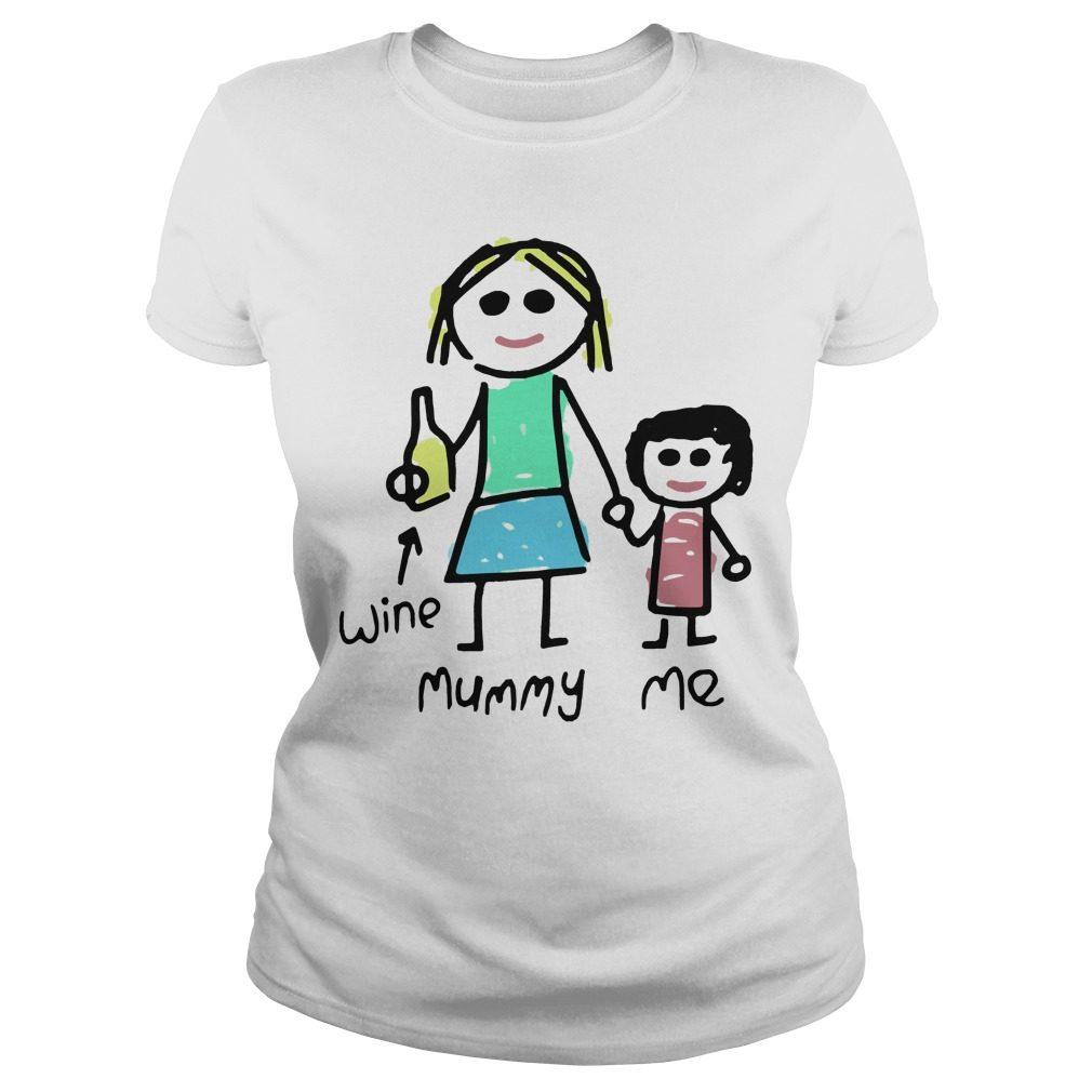 Mummy Womens Ladies Tee