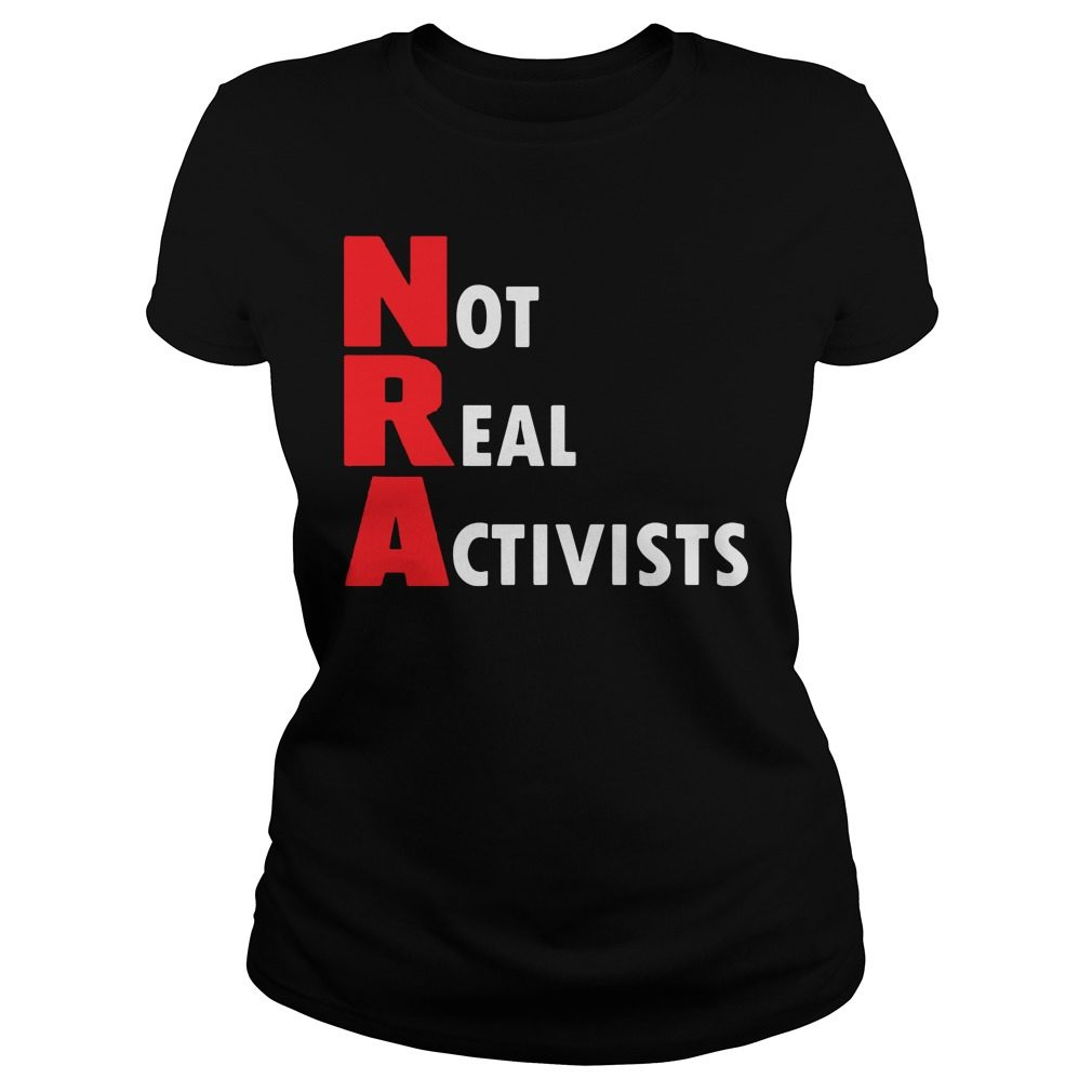 Not Real Activists Ladies Tee