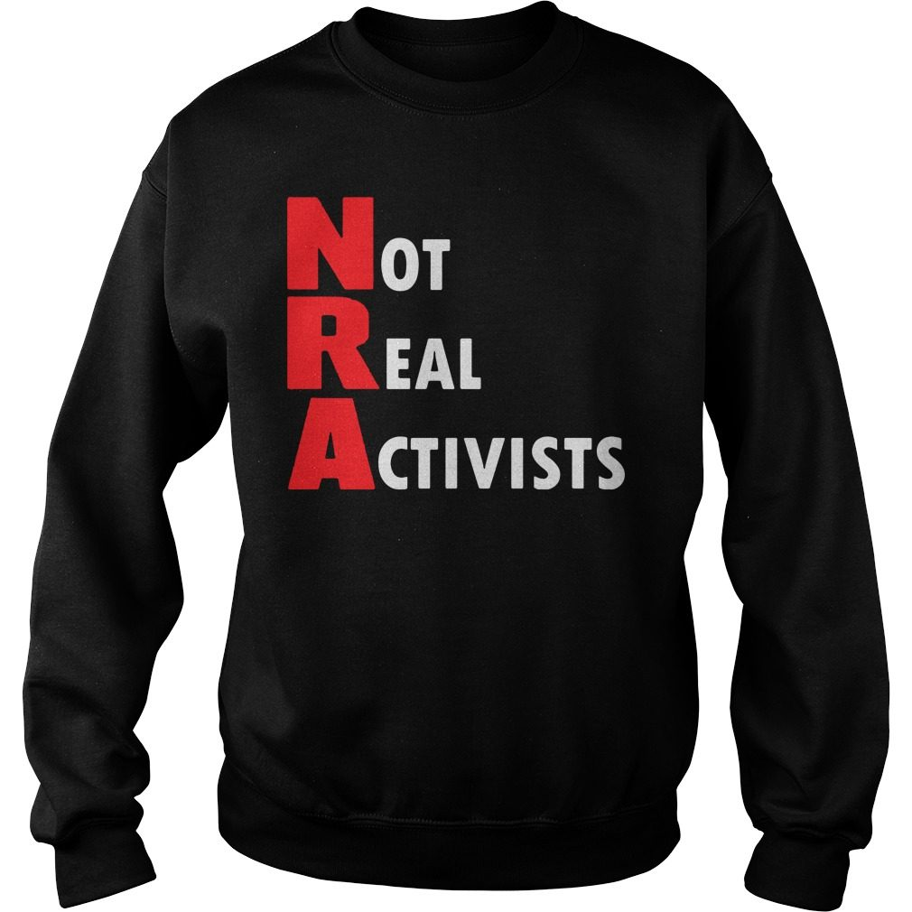 Not Real Activists Sweater