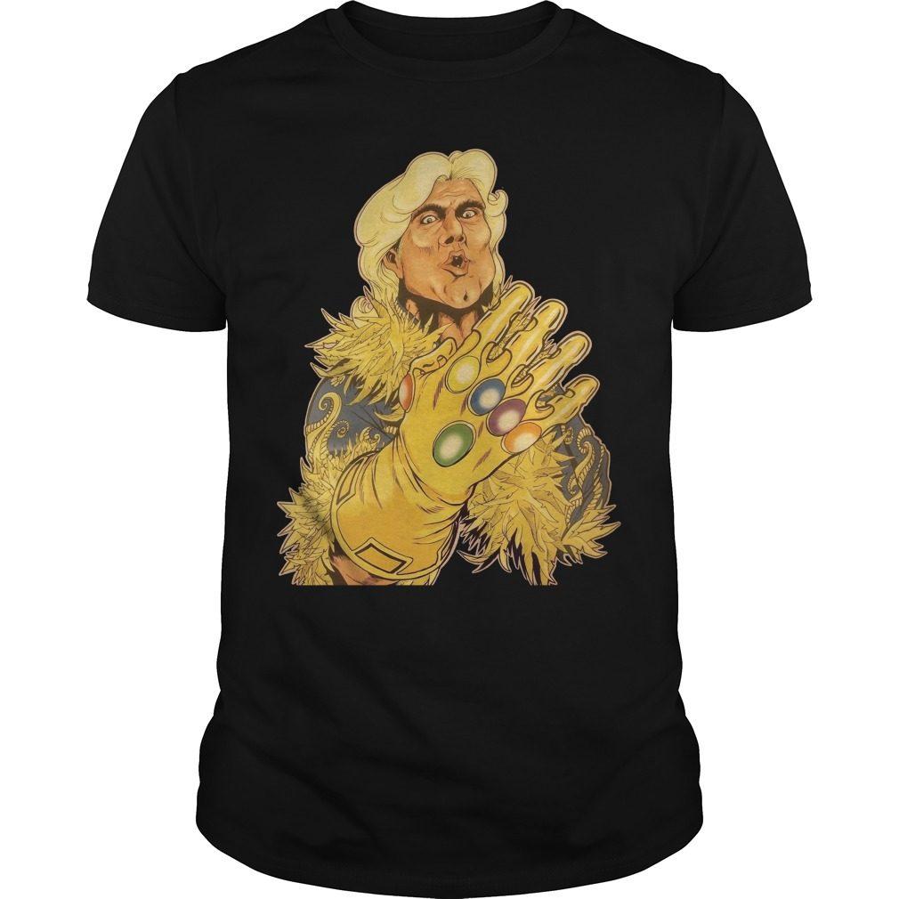 Ric Flair Infinity Gauntlet Shirt