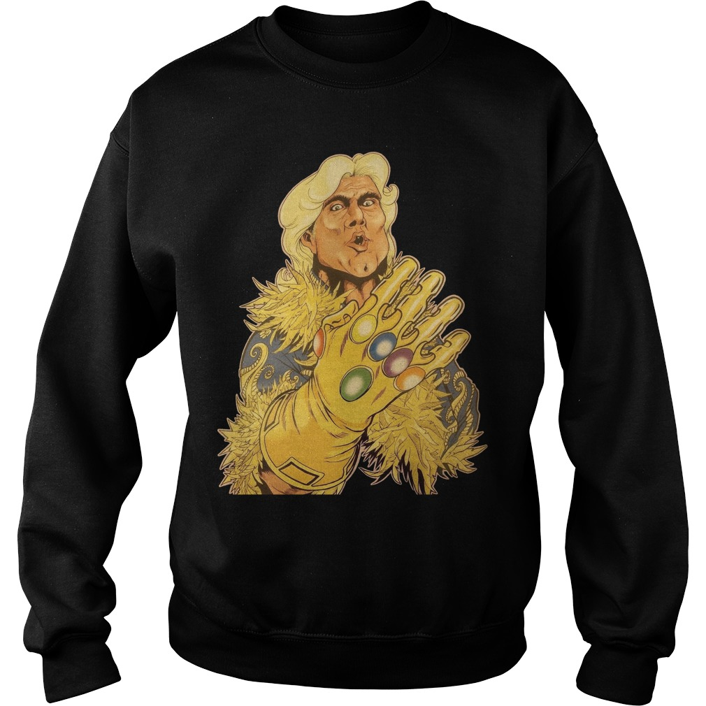 Ric Flair Infinity Gauntlet Sweater