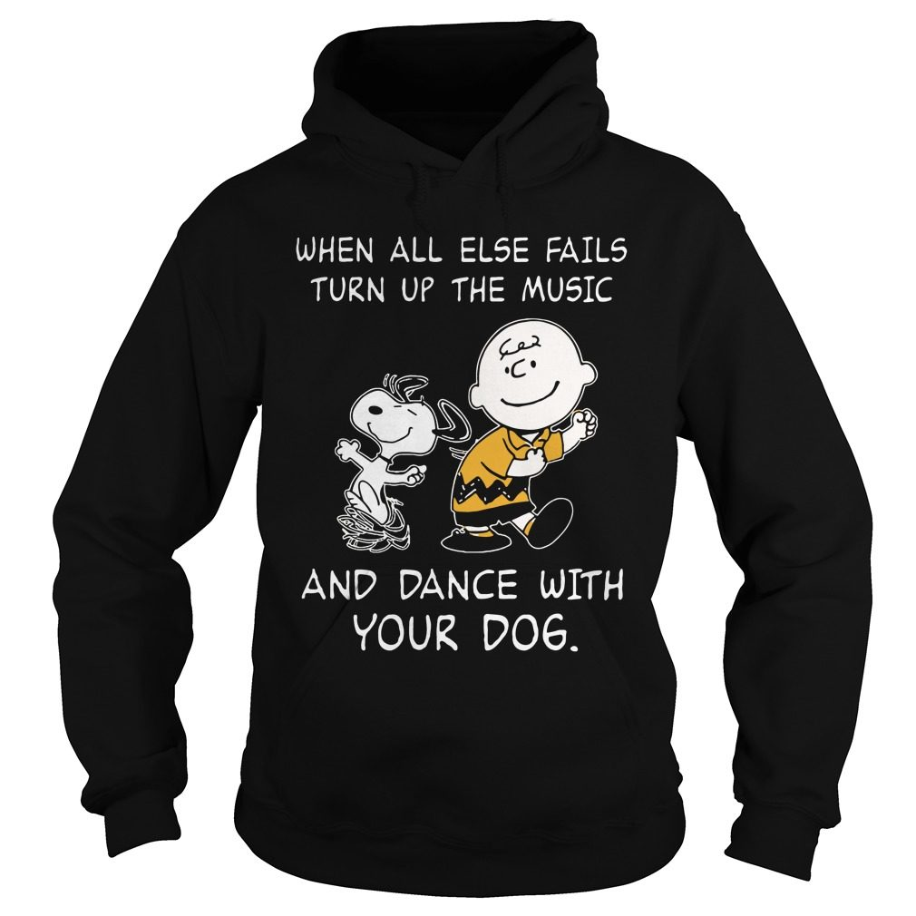 Snoopy Else Fails Turn Music Dance Dog Hoodie