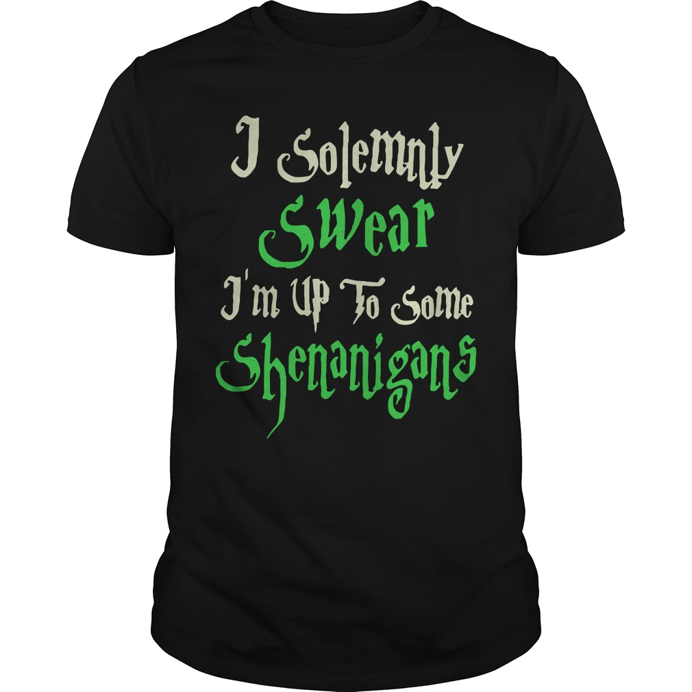 Solemnly Swear Im Shenanigans Shirt