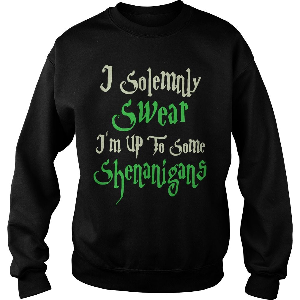 Solemnly Swear Im Shenanigans Sweater