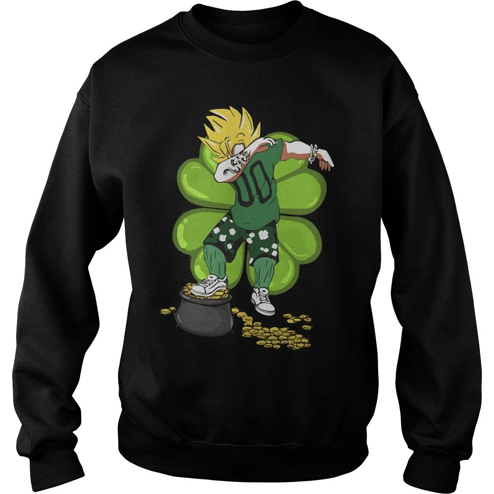 St Patricks Day Vegeta Dabbing Sweater