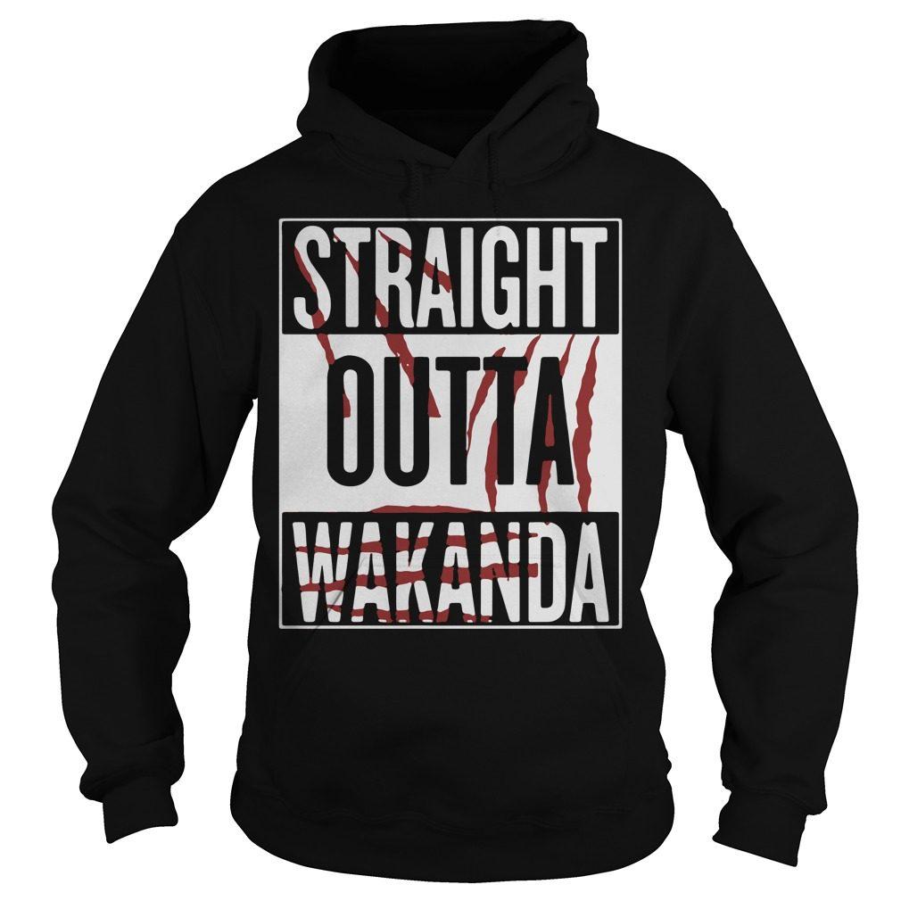 Straight Outta Wakanda Hoodie