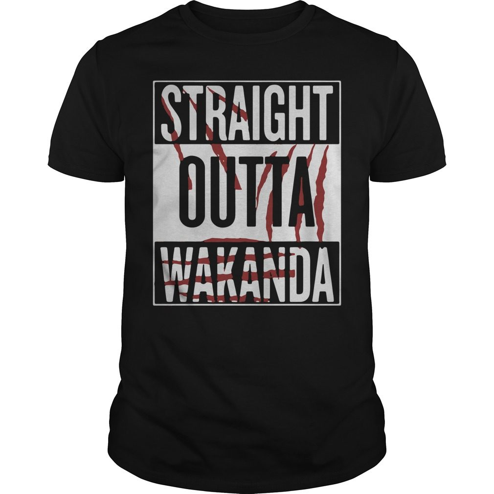 Straight Outta Wakanda Shirt