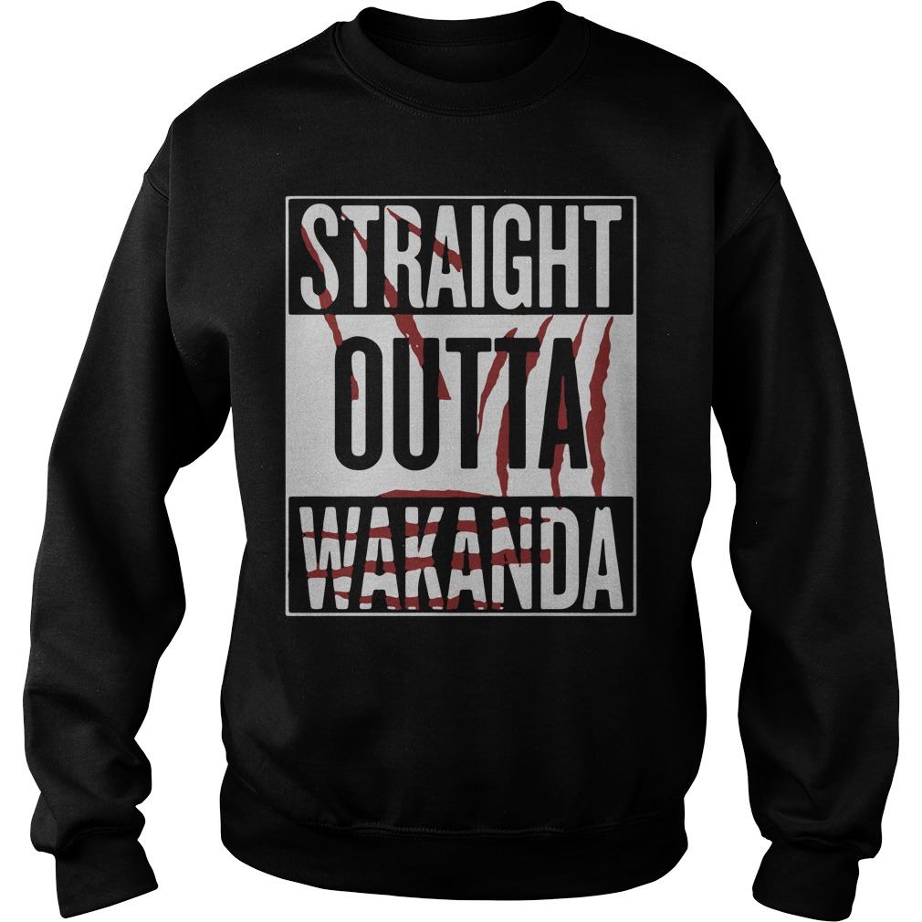 Straight Outta Wakanda Sweater