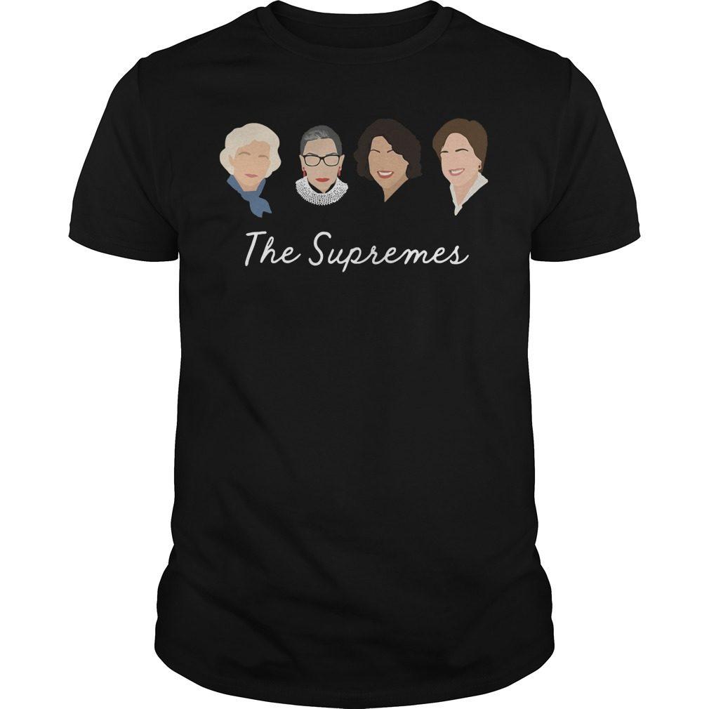 Supremes Sandra Day Oconnor Ruth Bader Guys Shirt