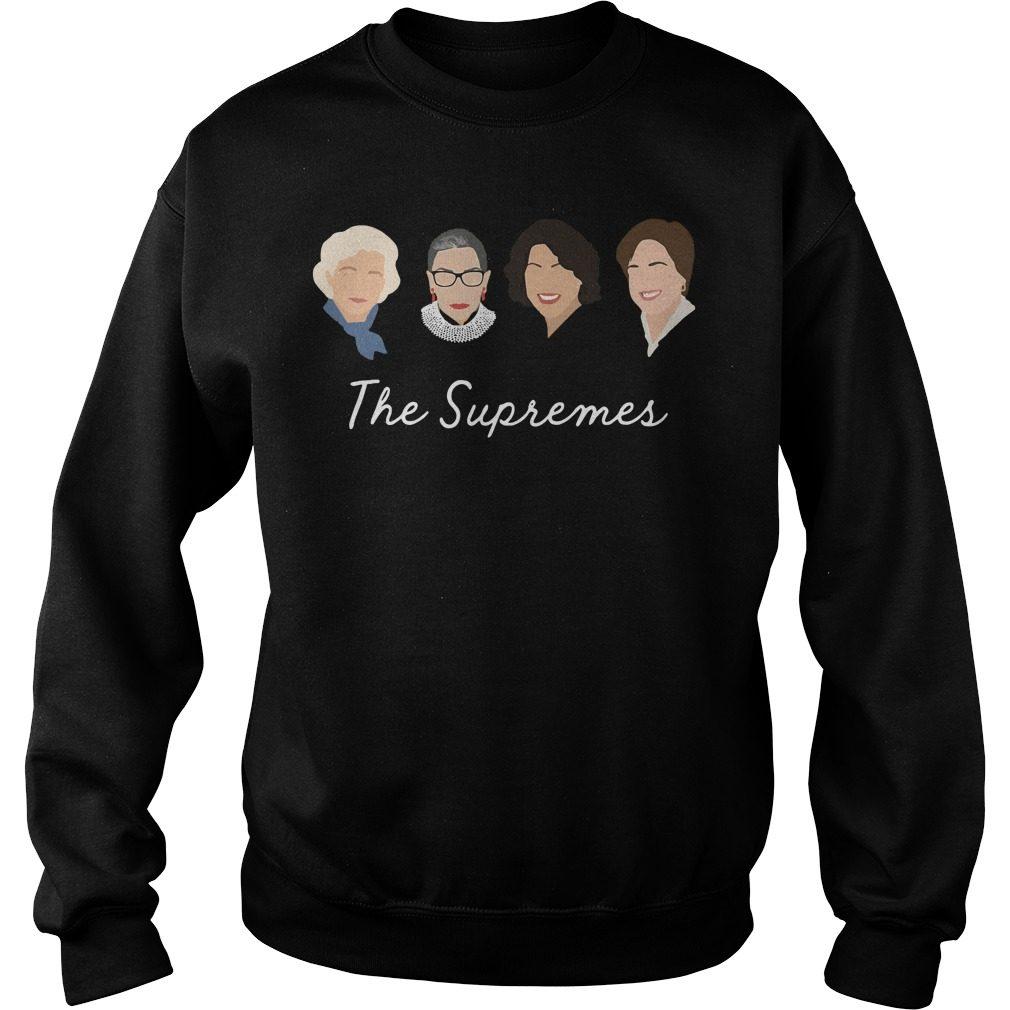 Supremes Sandra Day Oconnor Ruth Bader Sweater