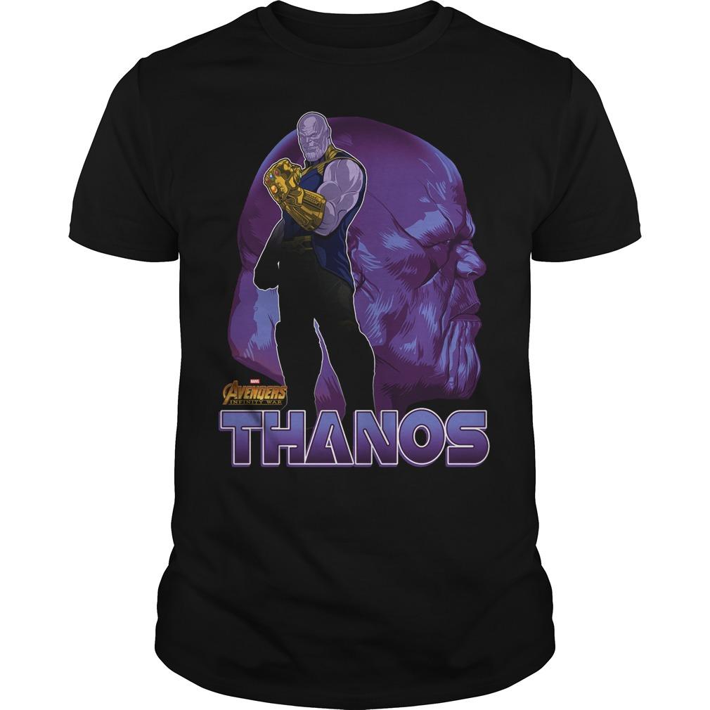 Thanos Avengers Infinity War Shirt