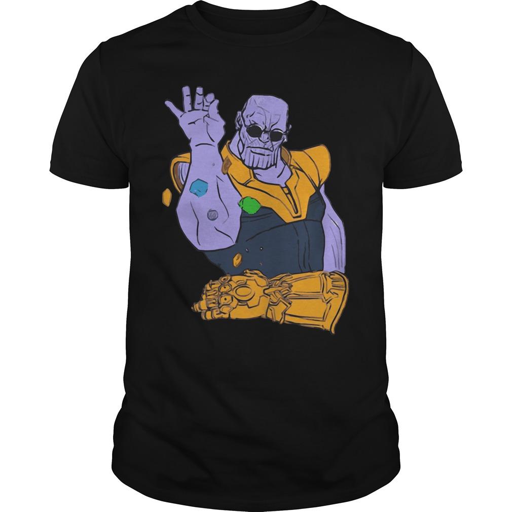 2783b6bb9 Thanos Meme Infinity War funny shirt, hoodie, sweater and v-neck t-shirt