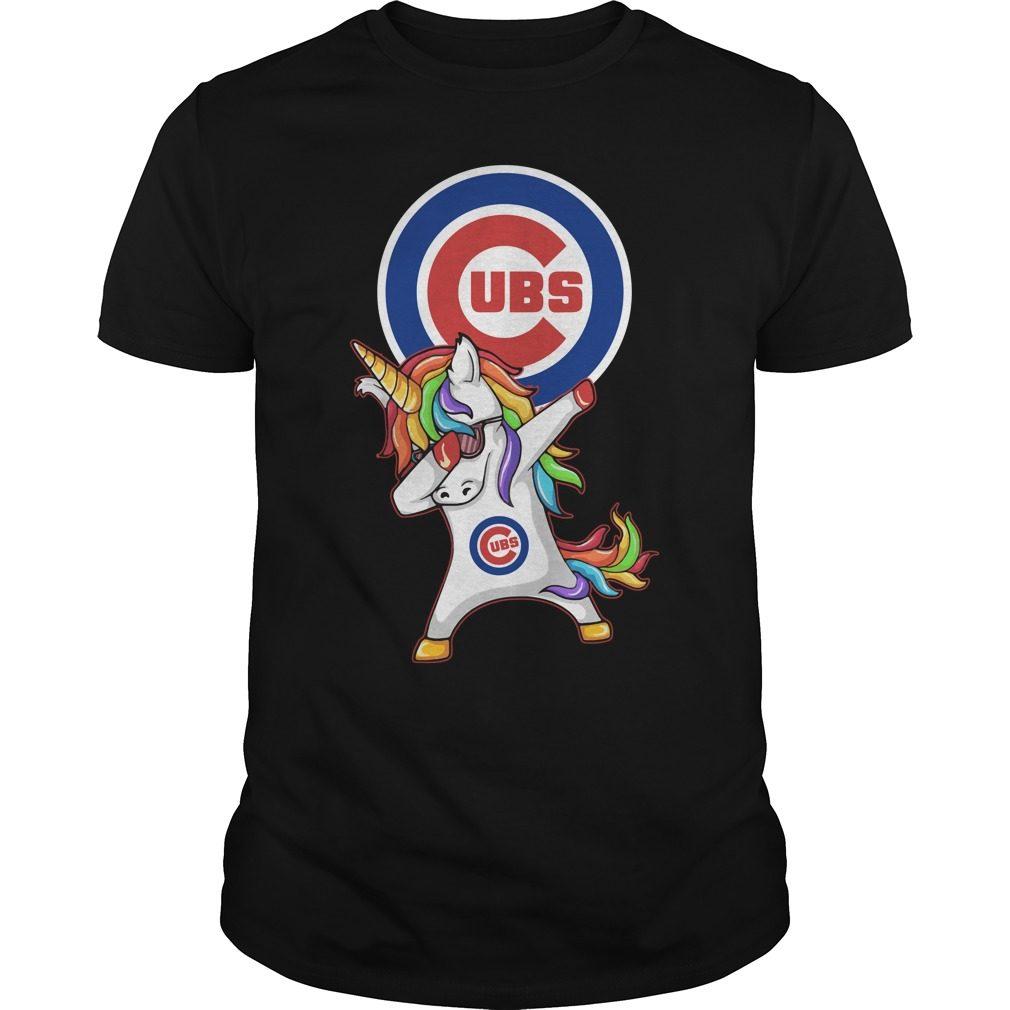 Ubs Chicago Cubs Unicorn Dabbing Shirt