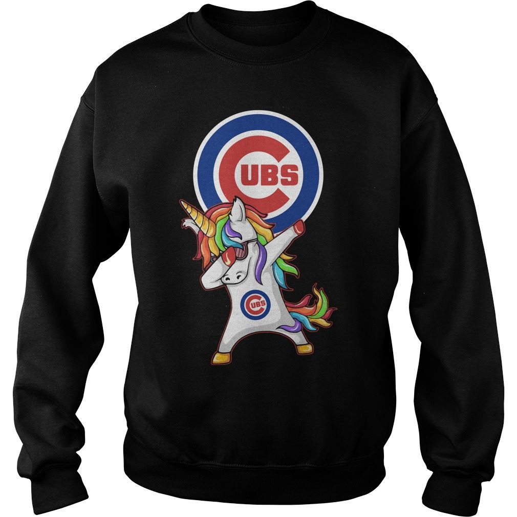 Ubs Chicago Cubs Unicorn Dabbing Sweater
