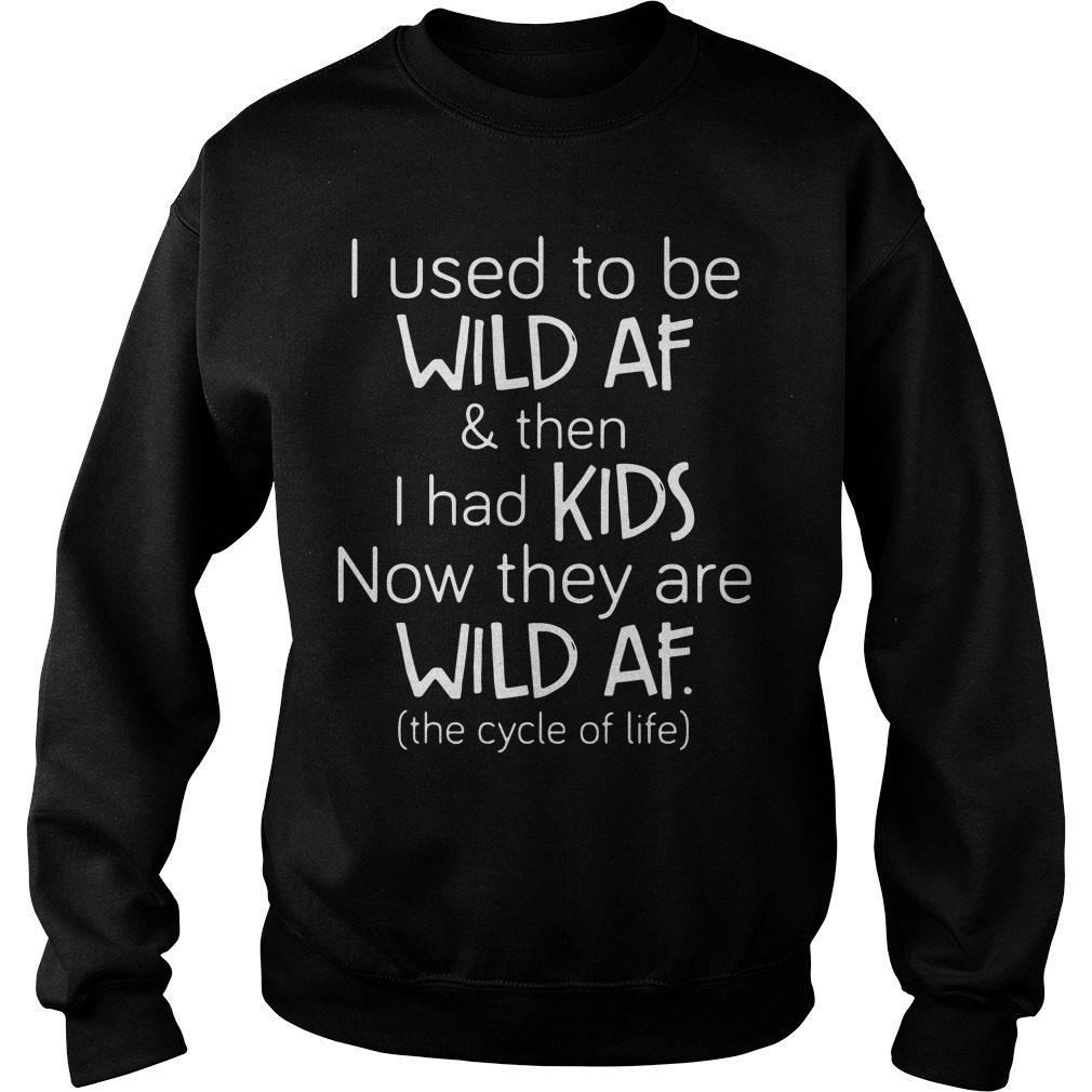 Used Wild Af Kids Sweater
