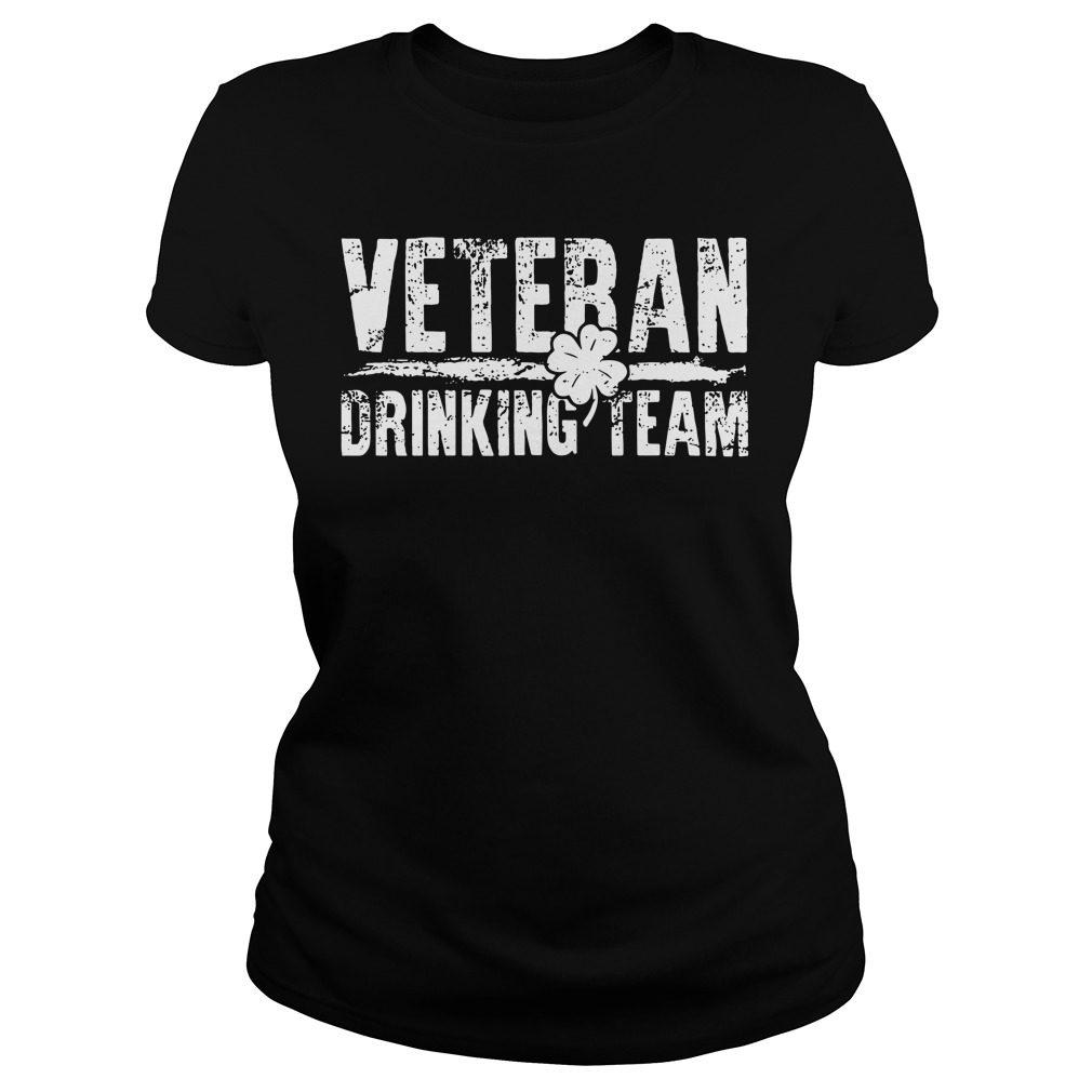 Veteran Drinking Team Ladies Tee