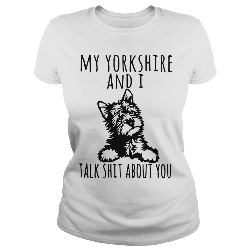 Yorkshire Talk Shit Ladies Tee